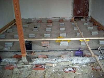 Opretning af gulv